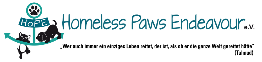 Homeless Paws Endeavour (HoPE)